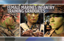 First Women Complete Marine Infantry Training; more
