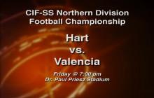CIF Championship Preview: Hart vs. Valencia