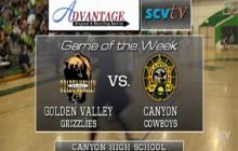 Golden Valley vs. Canyon: Boys