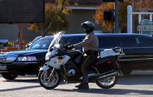Motorcade for Deputy Freeman