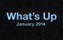 What's Up for January 2014: Jupiter & Venus