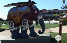 """""""Elephant Parade"""" Art Exhibit"""