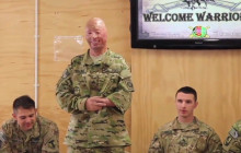 TSA Eases Airport Security for Troops; Wounded Warrors Back in Afghanistan; more