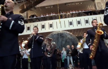Flash Mob: U.S. Air Force Band at the Smithsonian