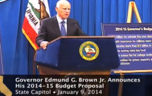 Press Conference: Brown Proposes 2014-2015 Stage Budget