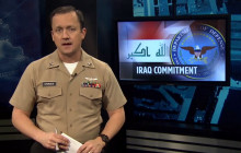 DoD Says It's Still Committed to Iraq; MOH Recipient Visits Troops; more