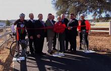 City Celebrates Golden Valley Bike Trail Completion