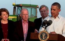 President Obama Addresses California Drought