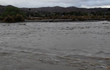 Santa Clara River Turns Into Actual River
