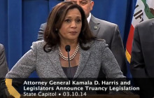 AG Harris Unveils New Truancy Legislation