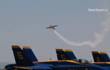 Los Angeles County Air Show Features Blue Angels