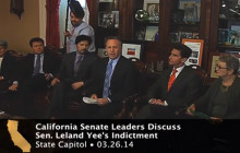 Senate Democrats Discuss Sen. Leland Yee's Indictment