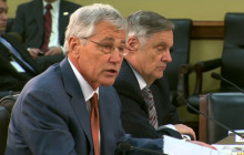 Hagel Addresses Ukrainian Situation; more