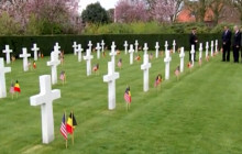 Hagel on Ukraine; Obama Honors WW2 Fallen in Belgium; more