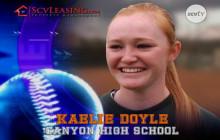 Kaelie Doyle, Canyon High School