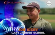 Jon Dicey, Canyon High School