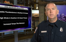 Fire Situation Report: Higher Temps Expected