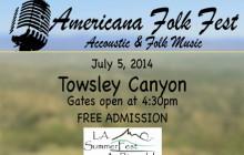July 5: Americana Folkfest at Rivendale