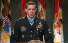 Former SSGT Ryan M. Pitts Inducted Into Hall of Heroes
