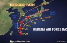 Typhoon Bears Down on Japan; 16 Dead in Vietnamese Chopper Crash; more
