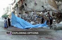 Violence in Gaza; STEM Prep; Purple Heart Recipient Reenlists