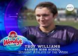 Troy Williams, Saugus High School