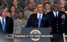 Obama Takes ISIL Strategy to Troops; PTSD & Suicide Take a Punch; more