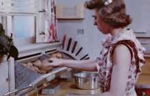 A Step Saving Kitchen, 1949