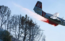 Press Conf. on Crash of Tanker 81 at Yosemite