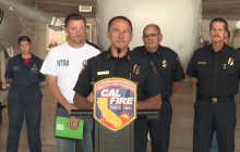 Press Conf.: CAL FIRE Puts Tanker Fleet Back in Action After Crash