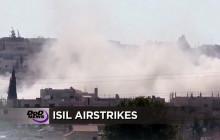 Air Strikes Pound ISIL; more