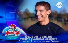 Colton Oshiro, Trinity Classical Academy