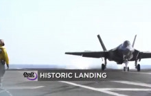 F-35c Makes First-ever Landing on Carrier; ISIL Attacks Continue; Ebola Update