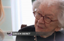 Civil War Soldier Honored; Dempsey on Russia; Woman, 97, is Honorary Green Beret