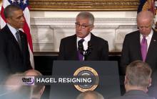 Hagel Resigns as Secretary of Defense
