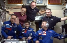 New ISS Crew; Orion Test Flight Update; more
