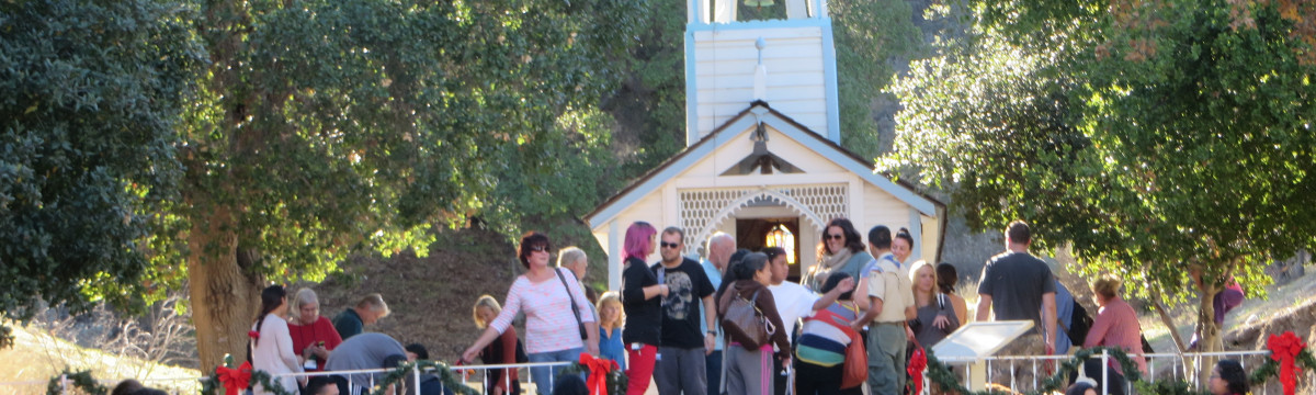 SCV Historical Society Christmas Open House, Blessing of Animals 12/6/2014