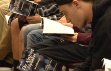 Bowman High School Students Connect Through Poetry and Art