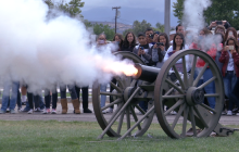Students Travel Back in Time to Civil War Era