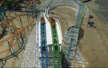 Twisted Colossus Preview at Six Flags Magic Mountain