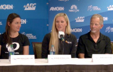 Women's Race: Press Conference, 2015