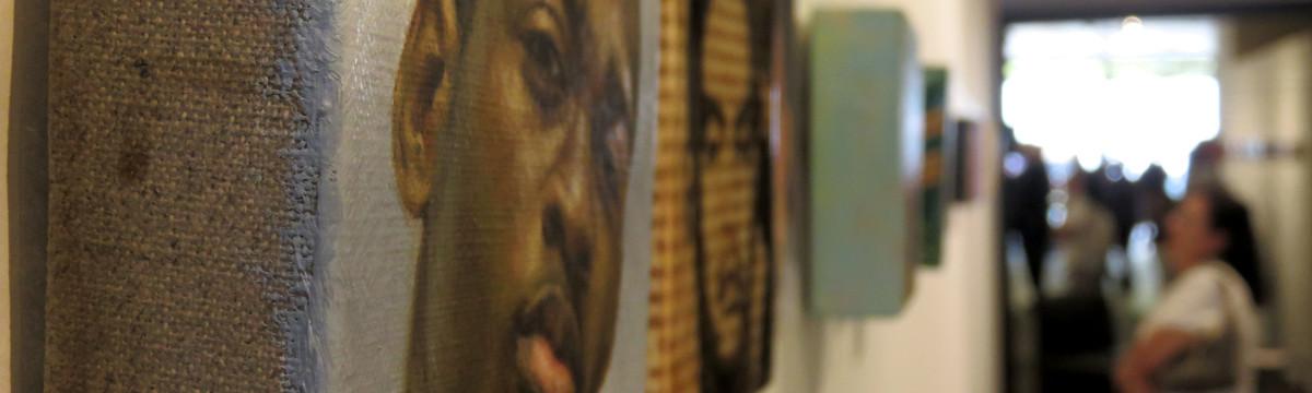 'Portraits of the Fallen Memorial' Exhibit Opens on Town Center Drive