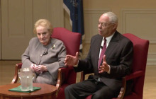 Madeleine Albright, Colin Powell Sit Down to Discuss Foreign Policy