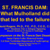 St. Francis Dam: What Led To Its Failure? with J. David Rogers