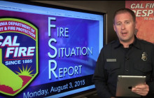 Situation Report: Lake Fire Contained; 20 Fires Still Burning