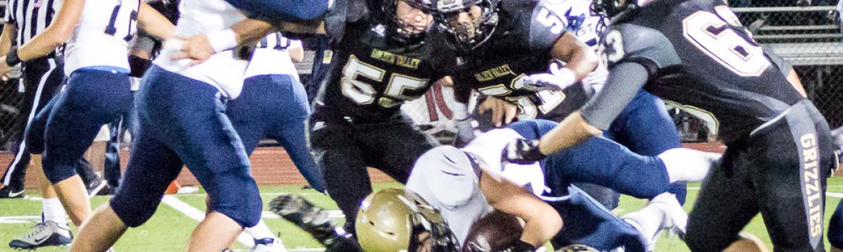 Oct. 30, 2015: West Ranch vs. Golden Valley
