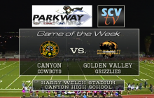 Game Of The Week: Canyon vs. Golden Valley, Oct 16, 2015