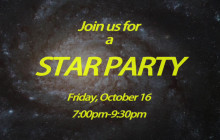 Oct. 16: Star Party at COC-Canyon Country Campus