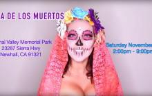 Nov. 7: Dia De Los Muertos at Eternal Valley