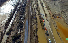 The Caltrans Response to Massive Mudslide on SR-58